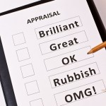 Appraisal Form - Brilliant/Great/OK/Rubish/OMG